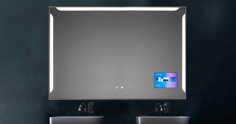screen mirror Espejo luz LED