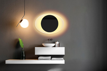 image Espejo luz LED