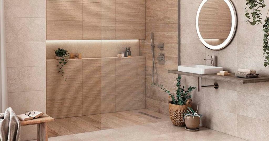 5 consejos baño Espejo luz LED