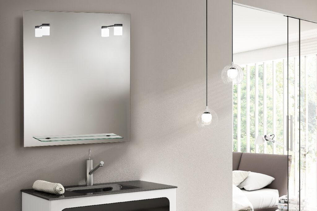Milan 4 Espejo luz LED