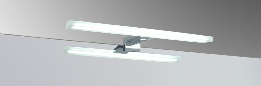 round 30 Espejo luz LED