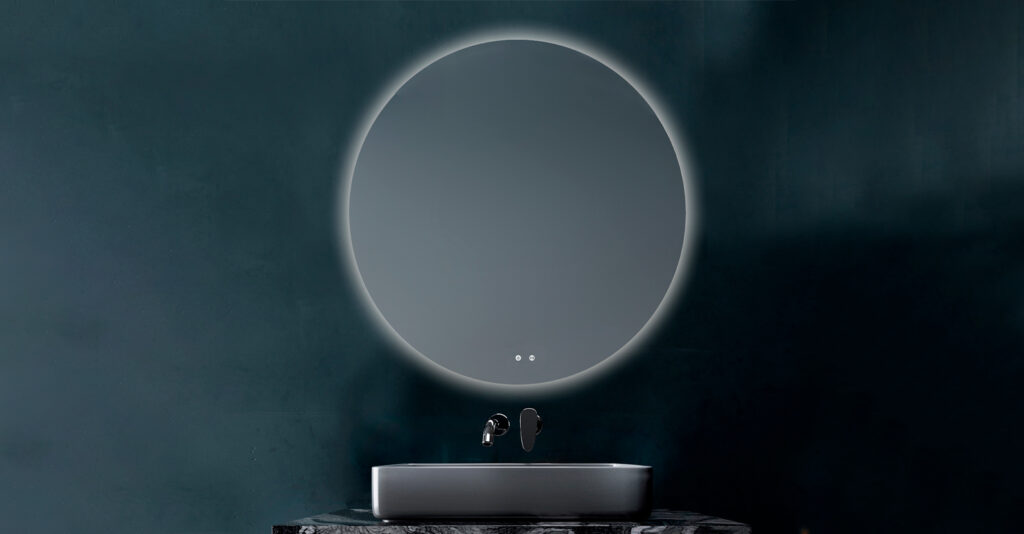 berlin Espejo luz LED